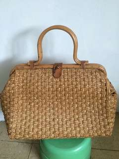 Antique basket bag