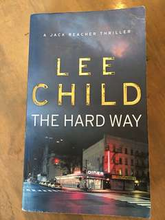 The Hard Way by Lee Child -Paperback