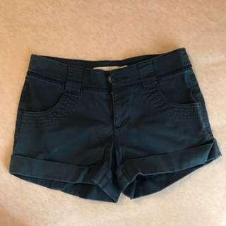海軍藍短褲