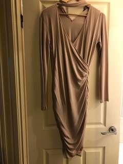 Bardot knit dress