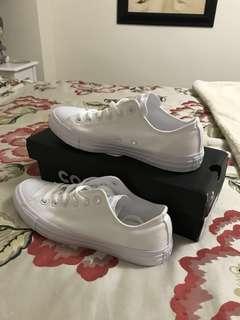 All White Converse ⭐️
