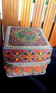 Ceremonial Beaded box
