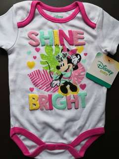 BNWT Minnie Mouse Baby Romper 12M (Authentic Disney Baby)