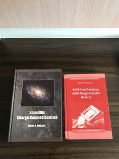 Hard cover books on Charge-coupled Devices