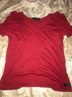 Milk&Co. Red tshirt
