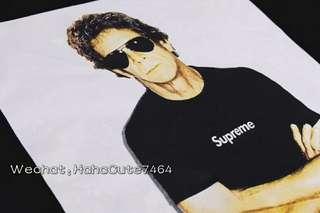 (价格私询)Supreme 09ss Lou Reed photo Tee