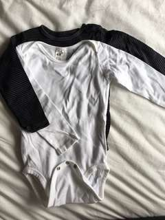 H&M long sleeved romper