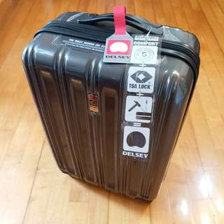 Delsey travel suitcase 旅行箱 拖喼