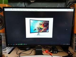 Samsung curve led monitor S27D590c
