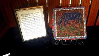 Ceremonial Wedding Dowry beaded box