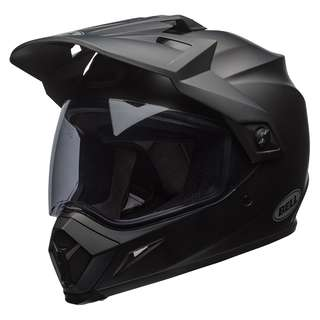 Bell MX-9 MX 9 Adventure SIZE SIZE MEDIUM ONLY with MIPS Full Face Motorcycle Motorcycle Motorcross Motor cross Off Road Helmet Solid Matte Black
