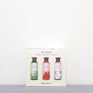Innisfree Body Cleanser Travel Kit