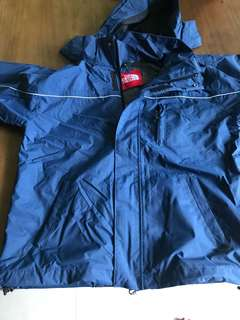 North face windbreaker size 8