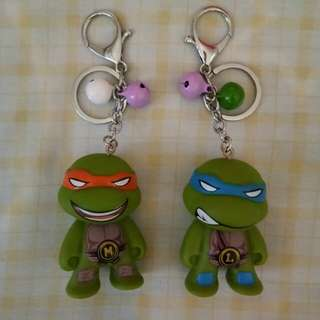 Character keychains