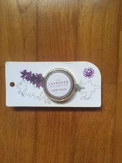 The lavender collection sleep balm