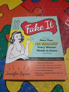 Fake It by Jennifer Byrne