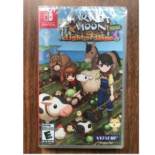 Nintendo Switch: Harvest Moon Light of Hope Special Edition [US]