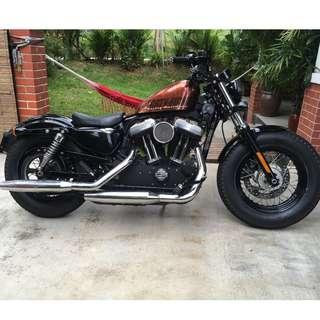 Harley Davidson Sportster 48  2014 only 14000 km