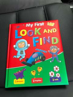Look and find ( hard cover)