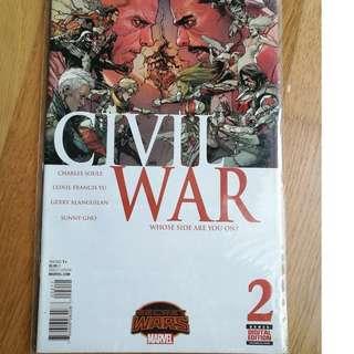 Marvel Civil War #2