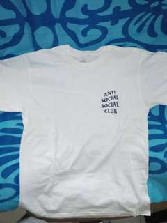 NEW! ASSC WHITE SIZE S!