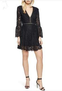 Bardot midnight lace dress size 14 brand new with tags