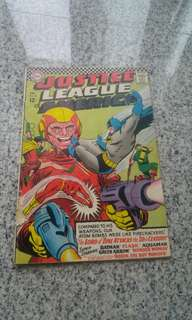 Justice League of America # 50 Silver Age