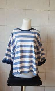 Blue Stripes Sweater. LD 125