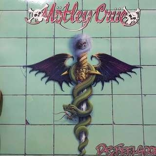 Motley Crue vinyl record