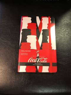Moleskine Coca Cola Plain Notebook