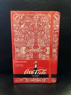 Moleskine Coca Cola Ruled Notebook