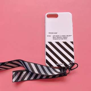 OFFWHITE IPHONE CASE 7+