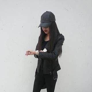 F21 leather jacket