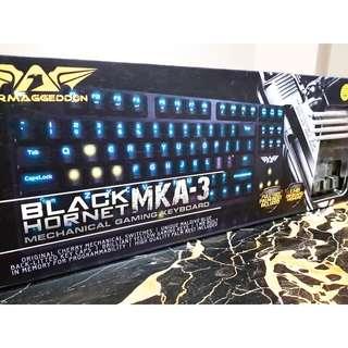 Amaggedon Black Hornet Keyboard MKA-3