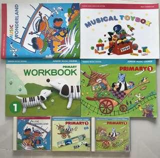 Yamaha music wonderland & Primary 1 set