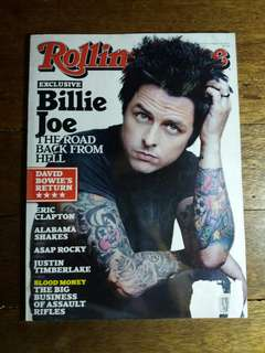 Billie Joe Armstrong | RollingStone Magazine March 2013