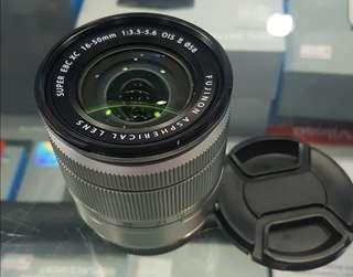 Lens fuji 16-50 mm