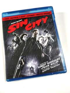Sin City Theatical Recut Extended Unrated Version Blu-ray
