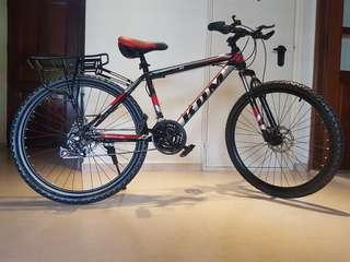 KOM Mountain Bike (Black & White)