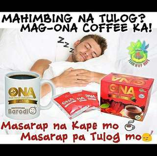 CAN'T SLEEP❓ONA Coffee BUAH MERAH Ganoderma Essensa Naturale