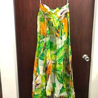 DION von FURSTENBERG Maxi tube dress