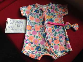Bonds Romper + Headband