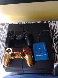 PS4 FULL SET WITH 2 CONTROLLERS