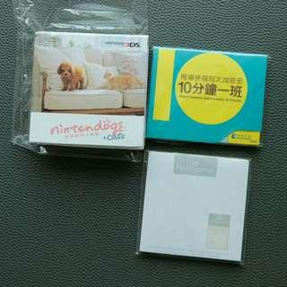 (三件價錢)全新Nintendo狗仔可愛memo紙,post-it 黏貼紙