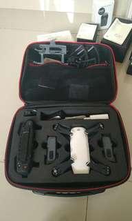 DJI Spark white + remote + 2 baterai, garansi resmi