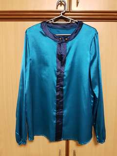 Good condition satin top