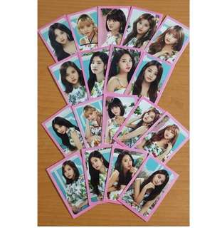 Twice Photocards From Korea Merchandise