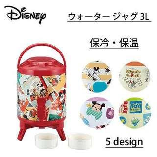 素晴らしい日本代購 Disney開水壺 付兩個小茶杯