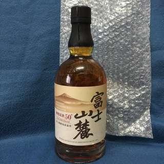 日本 麒麟 - 富士山麓 樽熟原酒50° 威士忌 (Kirin Fujisanroku Japanese Whisky), 700ML
