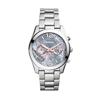 Promotion - FOSSIL PERFECT BOYFRIEND MULTIFUNCTION STAINLESS STEEL WATCH
